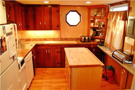 North Eastham Cape Cod vacation rental - Renovated kitchen area with dishwasher