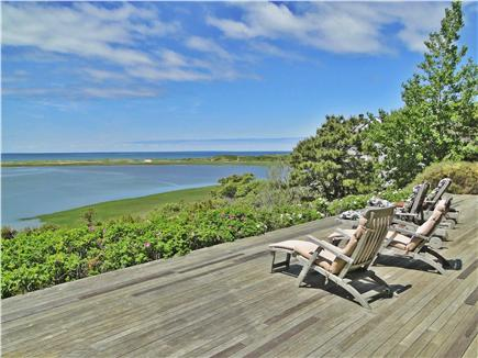 Wellfleet Cape Cod vacation rental - View from lower deck