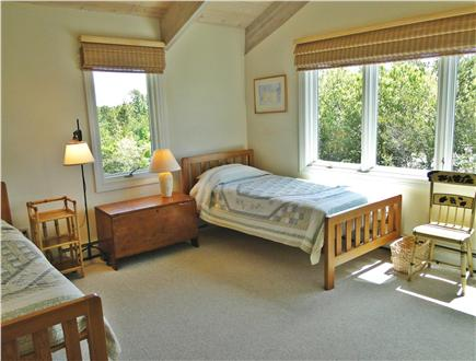 Wellfleet Cape Cod vacation rental - Bedroom with two twin beds