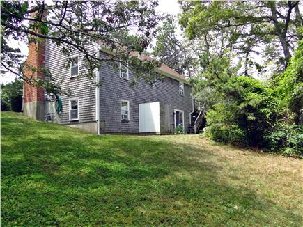 Chatham, Ridgevale Beach Cape Cod vacation rental - Backyard with new outdoor shower