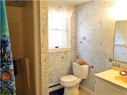 Chatham, Ridgevale Beach Cape Cod vacation rental - Downstairs full bathroom with shower