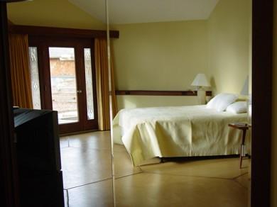 North Truro Cape Cod vacation rental - Bedroom opens to deck