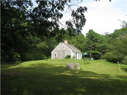 Wellfleet Cape Cod vacation rental - View of the house from the yard