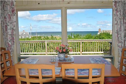 East Sandwich Cape Cod vacation rental - View from living room and dining area