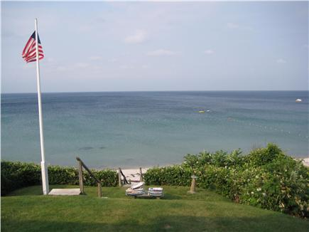 Plymouth MA vacation rental - View of in front yard just off the porch