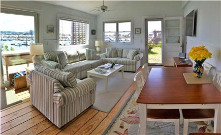 Wellfleet Harbor Cape Cod vacation rental - Views from the living and dining room
