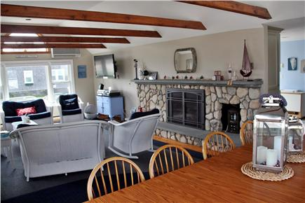 West Dennis Cape Cod vacation rental - Living/Dining Room