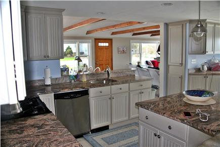 West Dennis Cape Cod vacation rental - View from kitchen to dining room
