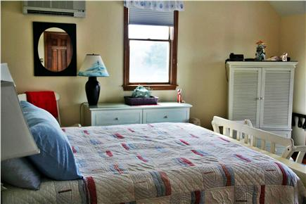 West Dennis Cape Cod vacation rental - Master Bedroom with back deck - King size bed