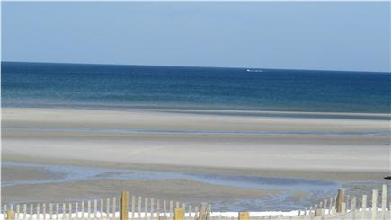 South Dennis Cape Cod vacation rental - Mayflower Beach at low tide