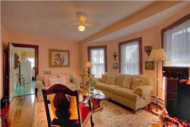 Provincetown Cape Cod vacation rental - Furnishings include antiques and comfortable seating.