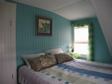 Chatham Cape Cod vacation rental - Front Bedroom with  Queen Bed and Water Views