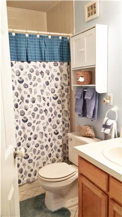 Brewster Cape Cod vacation rental - Downstairs Bathroom