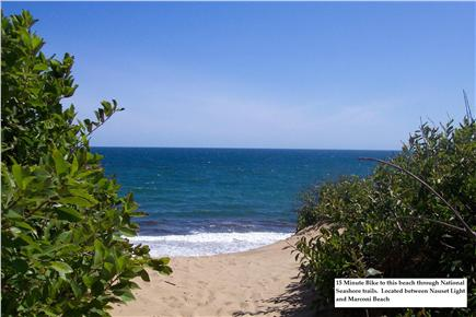 North Eastham Cape Cod vacation rental - Walk or bike to this beach through the National Seashore
