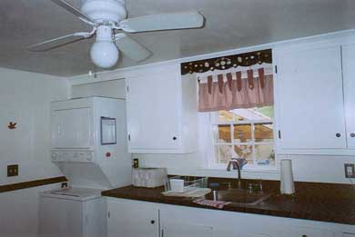 South Yarmouth/Bass River Cape Cod vacation rental - Kitchen with washer/dryer