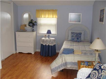 East Falmouth Cape Cod vacation rental - 2nd floor large, sunny blue room with twin beds and couch