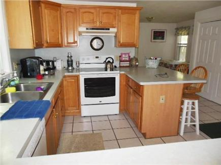 Hyannis Cape Cod vacation rental - Maytag glass top stove (2012) great counter space & well equipped