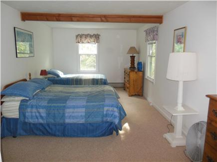 Hyannis Cape Cod vacation rental - Another big upstairs bedroom ~ FULL & TWIN bed ~ Sunny sea breeze