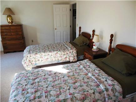 Hyannis Cape Cod vacation rental - Huge Upstairs Bedroom with 2 TWINS ~ Walk-in closet Rollaway beds