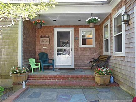Hyannis Cape Cod vacation rental - Farmer's Porch Entrance - A great place to enjoy!