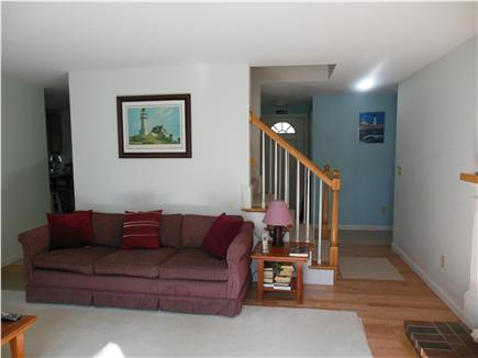 Hyannis Cape Cod vacation rental - View from large Bay Window Showing NEW Hardwood Floors!!!