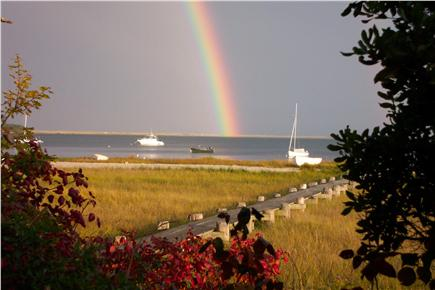 South Orleans Cape Cod vacation rental - Boardwalk to the Bay