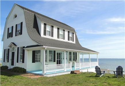 Provincetown Cape Cod vacation rental - Magnificent Waterfront Dutch Barn Style 1920's home