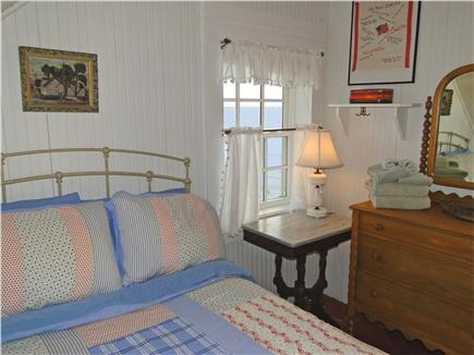 Provincetown Cape Cod vacation rental - Bedroom with Traditional Bead-Board Walls and Eaves