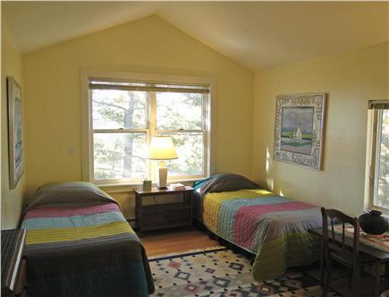 Wellfleet 4 acres on the inner Cape Cod vacation rental - Twin bedroom on main floor