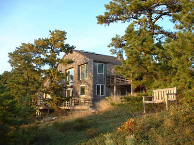 Wellfleet 4 acres on the inner Cape Cod vacation rental - Lovely contemporary home with ocean views, access to water