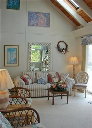 New Seabury New Seabury vacation rental - Vaulted ceilings and skylights brighten up the living room