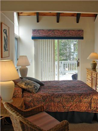 New Seabury New Seabury vacation rental - First floor master King with slider to deck and private bath