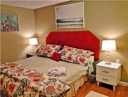 New Seabury New Seabury vacation rental - Spacious King bedroom on lower level with air conditioning unit