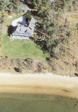 South Orleans Cape Cod vacation rental - Arial view