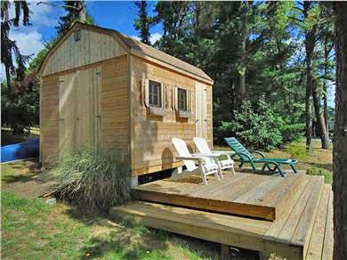 Centerville Centerville vacation rental - Kayak Shed and Deck- views of Long Pond