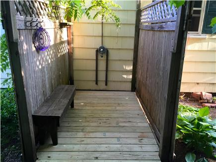 Centerville Centerville vacation rental - Very private outdoor shower.