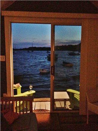 Chatham Cape Cod vacation rental - Evening on the deck