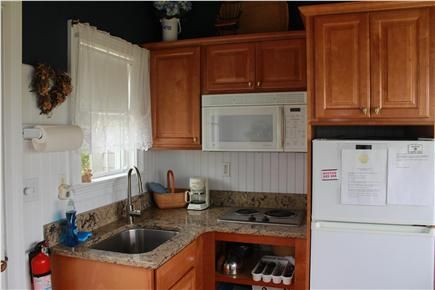 West Yarmouth Cape Cod vacation rental - Quartz counters and deep stainless sink, faucet,  updated kitchen