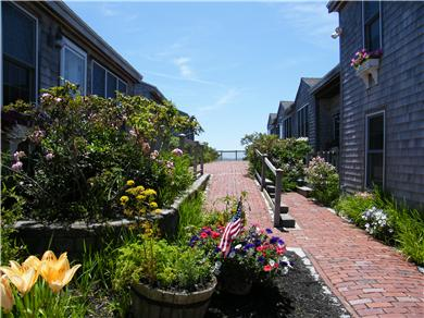 West Yarmouth Cape Cod vacation rental - Welcoming walkway
