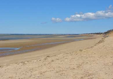 Eastham Cape Cod vacation rental - Beautiful First Encounter Beach just a mile away