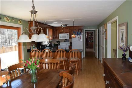 Chatham Cape Cod vacation rental - Dining area with sliders to deck and grill
