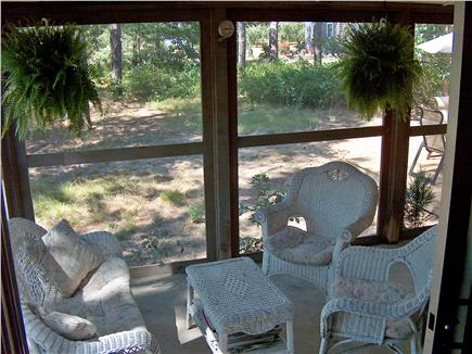 Eastham Cape Cod vacation rental - Indoor screened porch