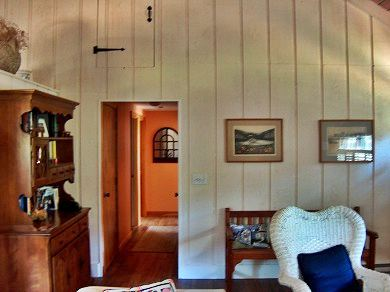 Eastham Cape Cod vacation rental - View to hallway leading to bedroom and #2 bath area