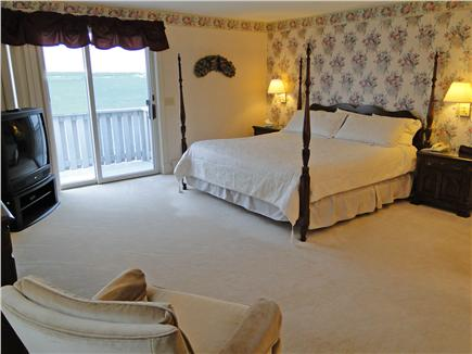 Yarmouth Cape Cod vacation rental - King size Master upstairs w/ deck, water views, and private bath