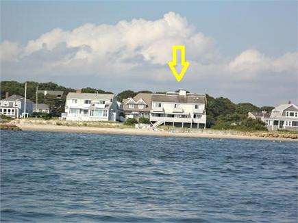 Yarmouth Cape Cod vacation rental - Lewis Bay Oceanfront View