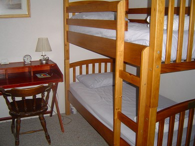 Plymouth, Manomet MA vacation rental - Bedroom, one of 5, this one with bunk beds on first floor