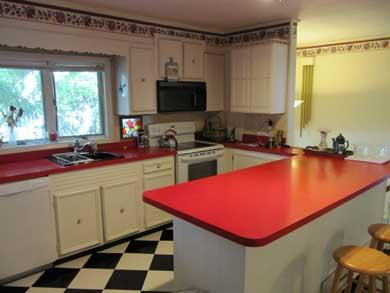 Plymouth, Manomet MA vacation rental - Upstairs kitchen