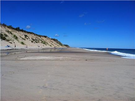 Wellfleet Cape Cod vacation rental - Beautiful LeCount Hollow Beach is just a 1/2 mile away