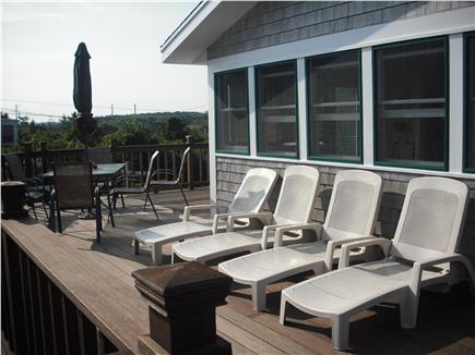 East Sandwich Cape Cod vacation rental - Wrap around deck facing ocean