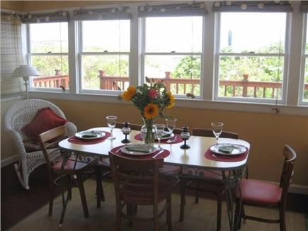 East Sandwich Cape Cod vacation rental - Closed in porch facing beach (off of living room)